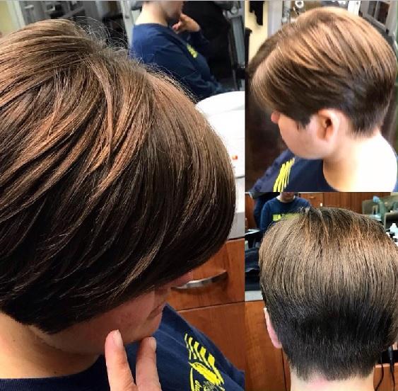 Asymmetrical Bob or Wedge Haircut | M2 Salon NC At Sola Salon| Margy ...