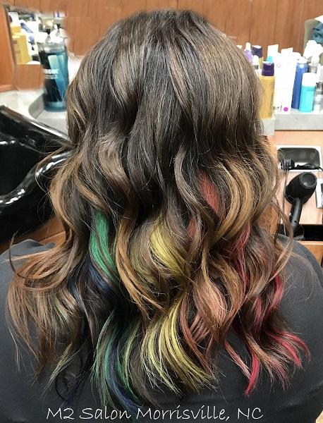 Pulp Riot Rainbow Hair Colors | M2 Salon NC At Sola Salon| Margy ...