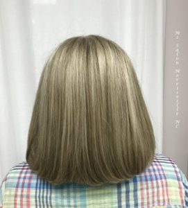 Ash-blonde-lowlights-and-highlights-m2-salon-morrisville-nc