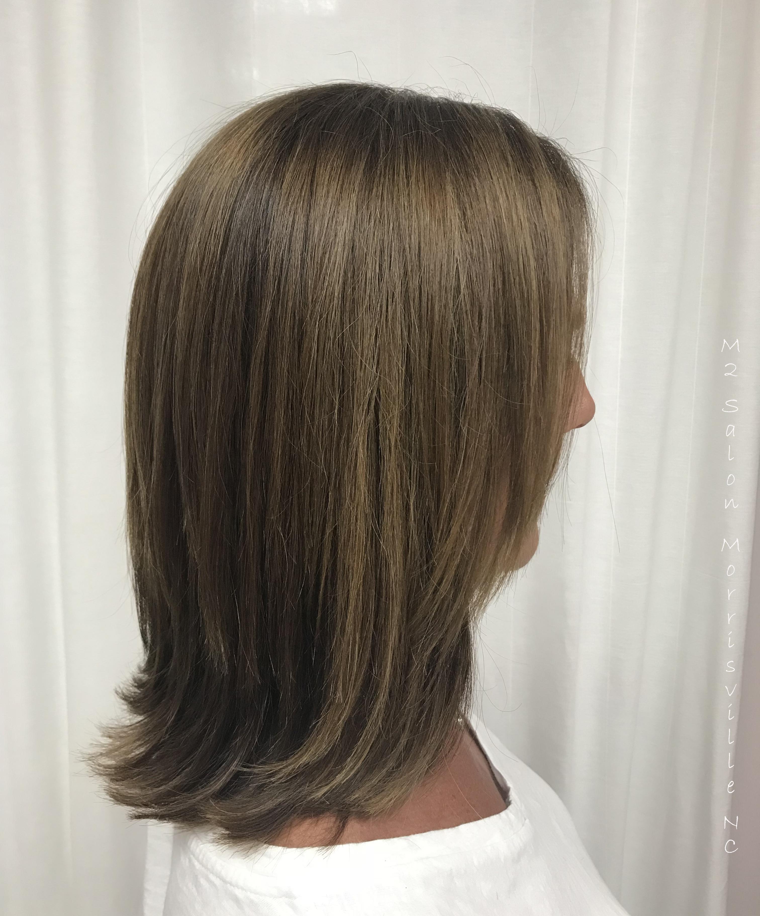 Keratin Treatment And Fall Hair Color M2 Salon Nc At Sola Salon